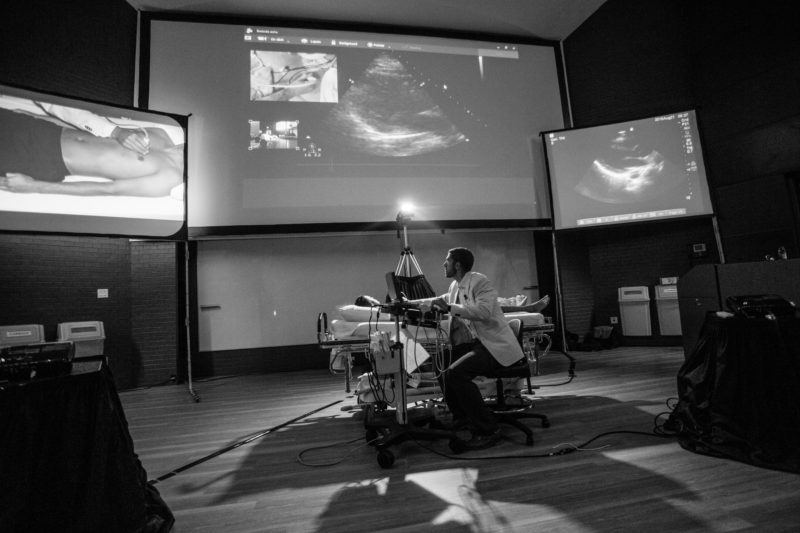 ultrasound guided peripheral iv insertion in the ed