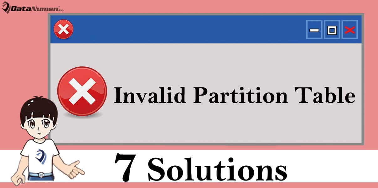 guid partition table windows 7