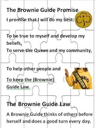girl guide promise law and motto