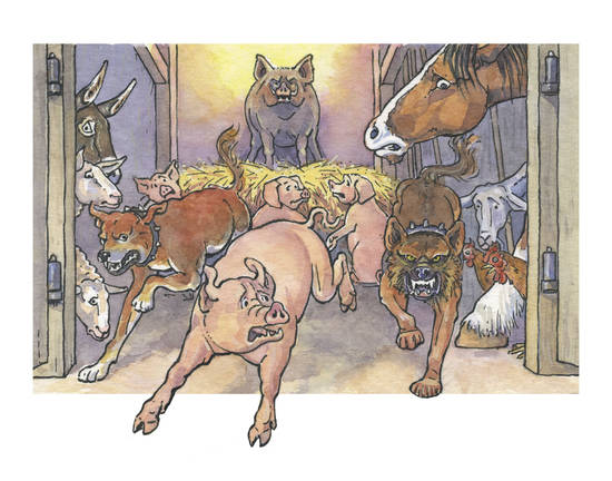 animal farm study guide answers chapter 1 2