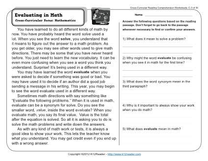 guided writing worksheets for grade 6