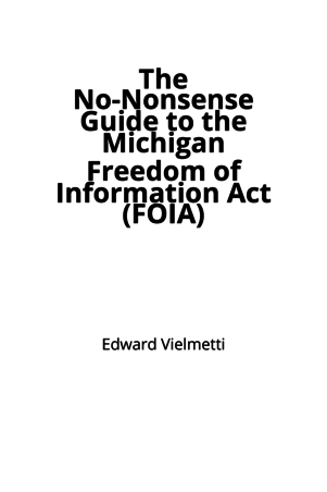 freedom of information act guide