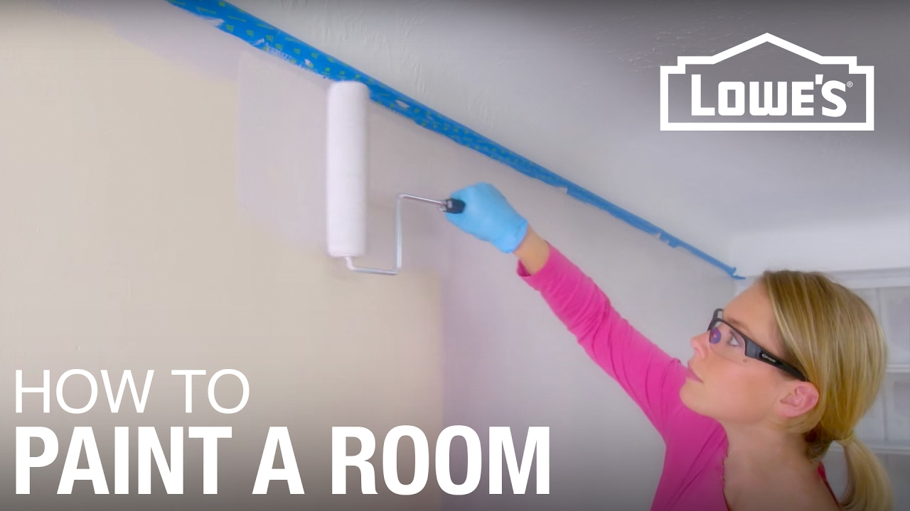 guide to painting a room