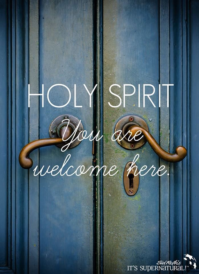 let the holy spirit guide you